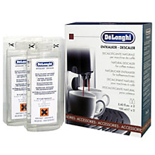 Buy De'Longhi Coffee Machine Descaler, Pack of 2 Online at johnlewis.com