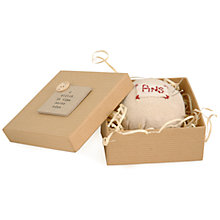 Buy East of India 'A Stitch In Time' Pin Cushion Online at johnlewis.com