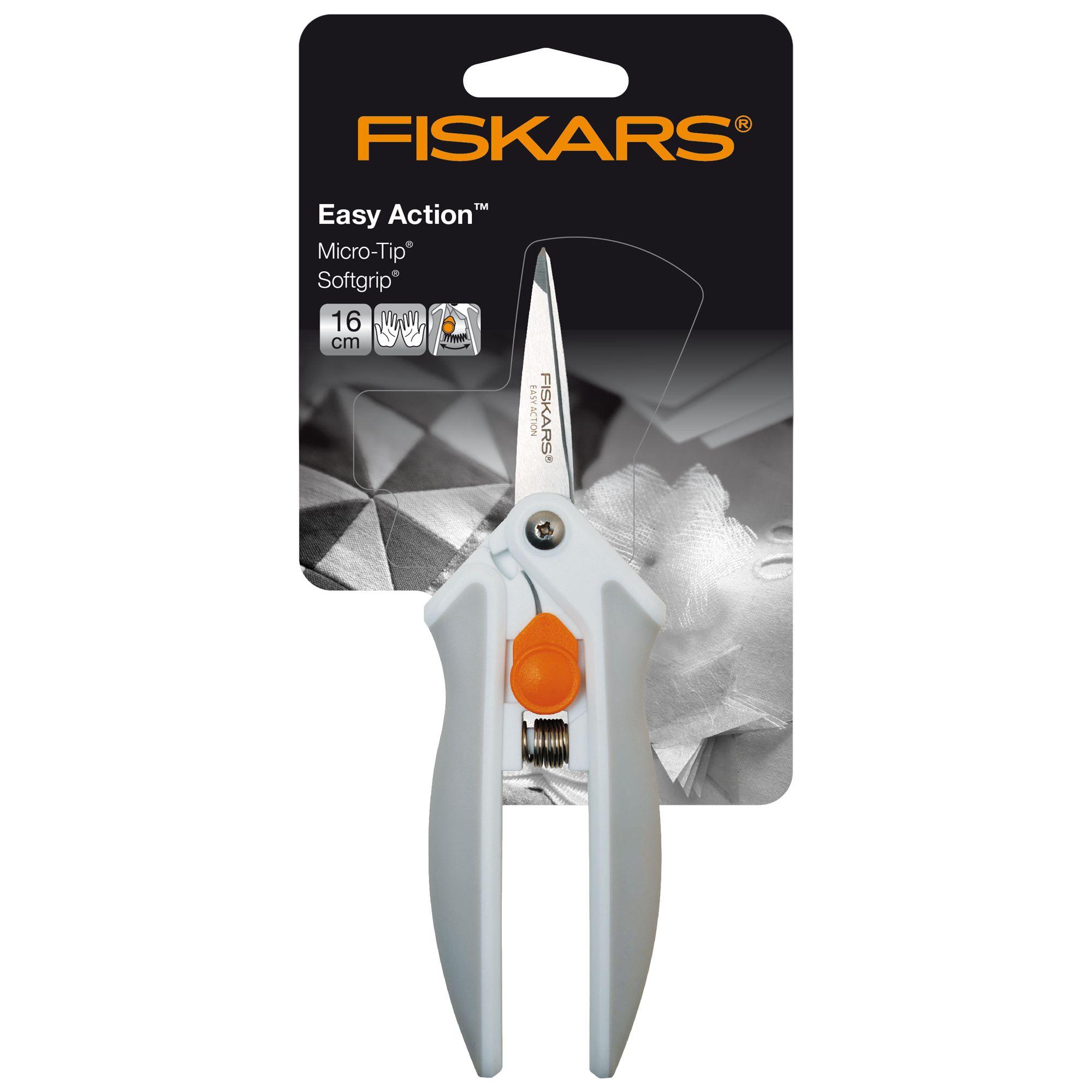 Fiskars Fiskars Softouch® Spring Action - Micro-Tip™ Scissors, 16cm