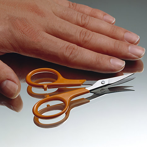 Buy Fiskars Curved Nail Scissors Online at johnlewis.com