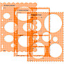 Fiskars ShapeTemplates™, Pack of 3