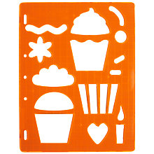 Buy Fiskars Cake Shaped Template Online at johnlewis.com