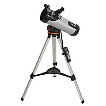 Buy Celestron Short Reflector LCM 114 Computerised Telescope Online at johnlewis.com