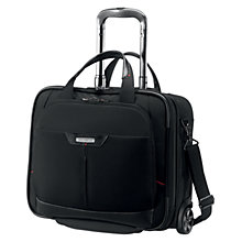 "Buy Samsonite Pro-DLX³ 16.4"" Laptop 2-Wheel Tote Bag, Black Online at johnlewis.com"