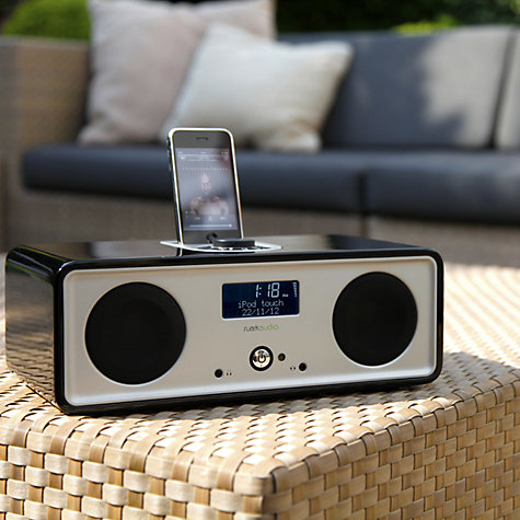 Buy Ruark R2i DAB Digital Radio Clock and iPod Dock Online at johnlewis.com