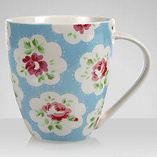 Buy Cath Kidston Provence Mug, Blue Online at johnlewis.com