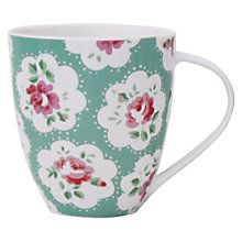 Buy Cath Kidston Provence Mug, Green Online at johnlewis.com