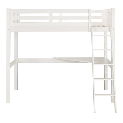 Buy John Lewis Ashton High Sleeper, White Online at johnlewis.com