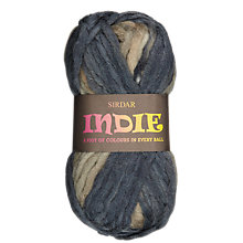 Buy Sirdar Indie Super Chunky Knitting Yarn Online at johnlewis.com