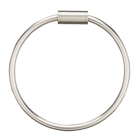 Buy John Lewis Satin Towel Ring Online at johnlewis.com