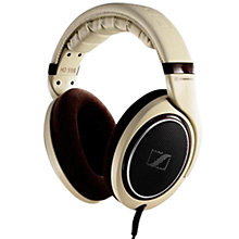 Buy Sennheiser HD598 Over-Ear, Full Size Headphones, Cream Online at johnlewis.com