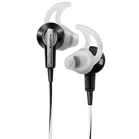 Buy Bose® IE2 (In-Ear) Headphones, Black Online at johnlewis.com