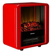 Buy Dimplex MCF15R Microfire Fan Heater, Red Online at johnlewis.com
