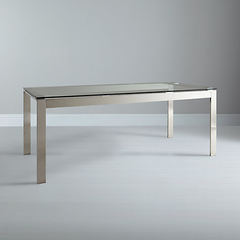 Buy John Lewis Frost 8 Seater Dining Table, Glass Online at johnlewis.com