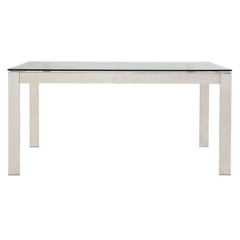 Buy John Lewis Frost 6 Seater Dining Table Online at johnlewis.com