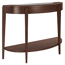 Buy John Lewis Garbo Demi Lune Console Table Online at johnlewis.com