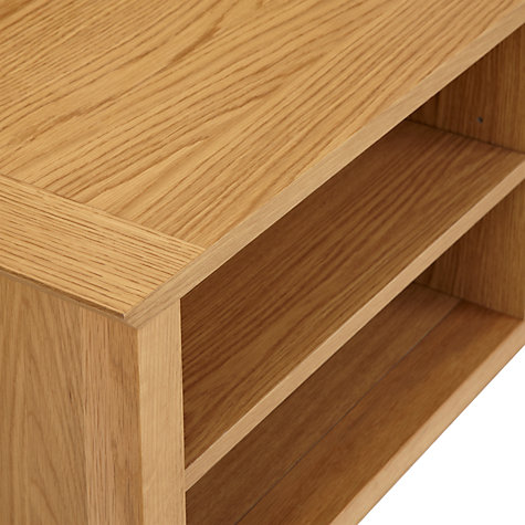 Buy John Lewis Ellis Entertainment Stand for TVs up to 42-inch, Light Oak Online at johnlewis.com