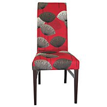 Buy John Lewis Vanessa Dining Chair, Dandelion Clocks/ Dark Oak Online at johnlewis.com