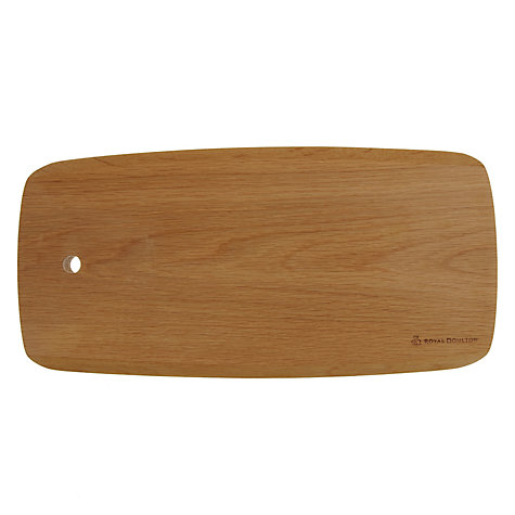 Buy Royal Doulton Wooden Board, Small Online at johnlewis.com