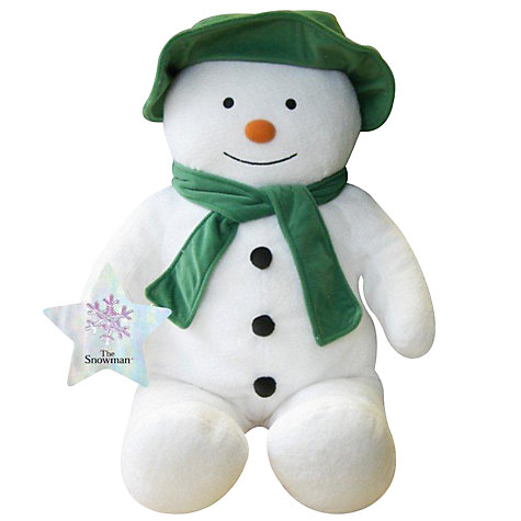 Buy Musical Snowman Soft Toy Online at johnlewis.com