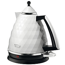 Buy De'Longhi Brilliante Kettle and 4-Slice Toaster, White Online at johnlewis.com