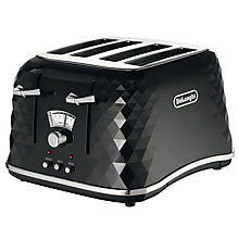 Buy De'Longhi 4-Slice Brilliante Toaster Online at johnlewis.com