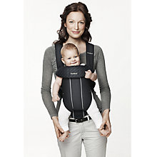 Buy BabyBjörn Original Classic Carrier, City Black Online at johnlewis.com