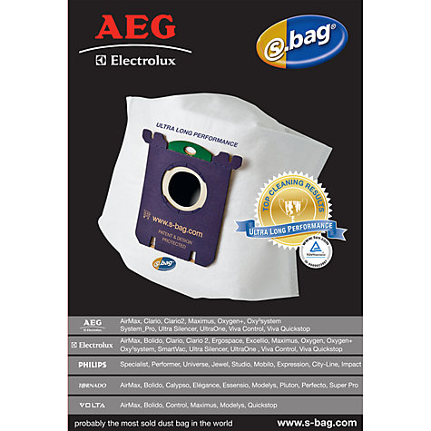 Buy AEG Ultra Vacuum Cleaner Bags, Pack of 3 Online at johnlewis.com