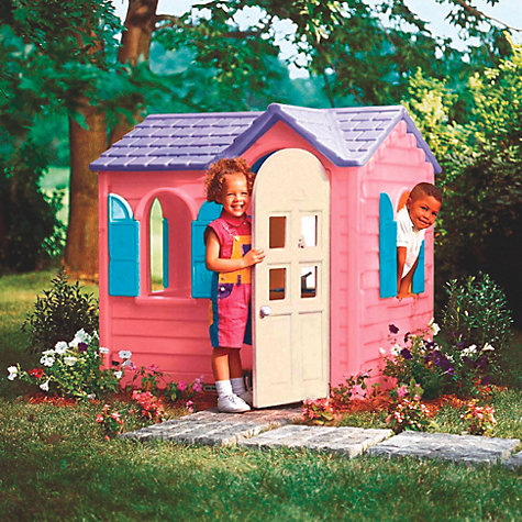 Buy Little Tikes Pink Country Cottage Online at johnlewis.com