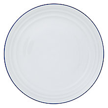 Buy John Lewis Coastal Cote De Provence 27.5cm Dinner Plate, White Online at johnlewis.com
