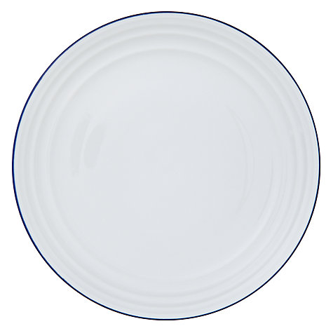 Buy John Lewis Coastal Dinner Plate,  Dia.27.5cm, White Online at johnlewis.com