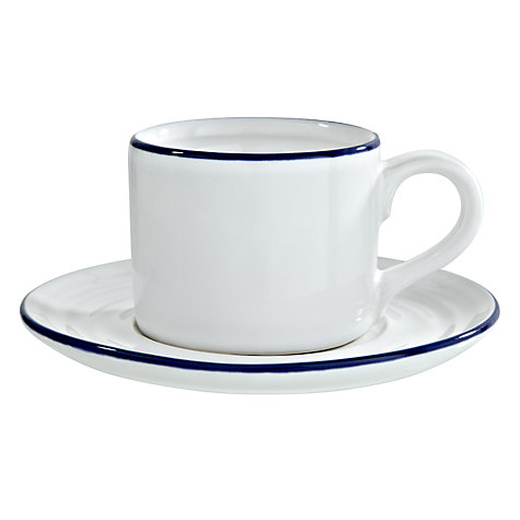 Buy John Lewis Coastal Espresso Cup and Saucer Online at johnlewis.com