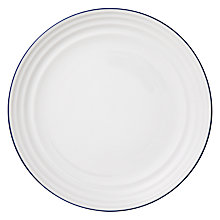Buy John Lewis Coastal Side Plate, Dia.21cm, White Online at johnlewis.com