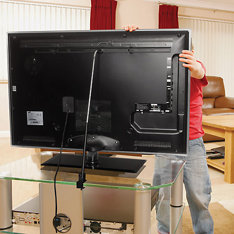 "Buy Peerless ACSTA1 Home Stabilis Safety Kit for TVs from 32 - 60"" Online at johnlewis.com"