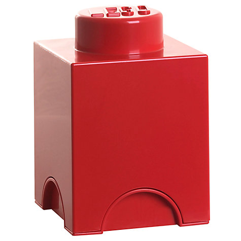Buy LEGO 1 Stud Storage Brick Online at johnlewis.com