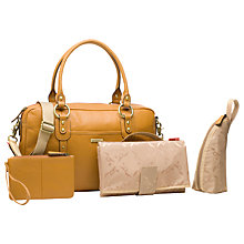 Buy Storksak Elizabeth Changing Bag, Tan Online at johnlewis.com