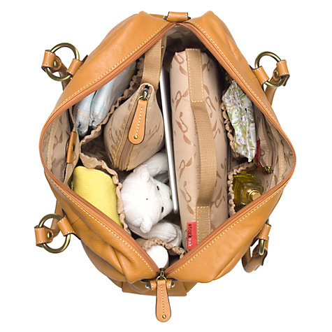 Buy Storksak Elizabeth Changing Bag, Natural Online at johnlewis.com