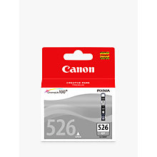 Buy Canon PIXMA CLI-526GY Inkjet Cartridge, Grey Online at johnlewis.com