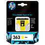 HP 363 Inkjet Cartridge, Yellow, C8773EE