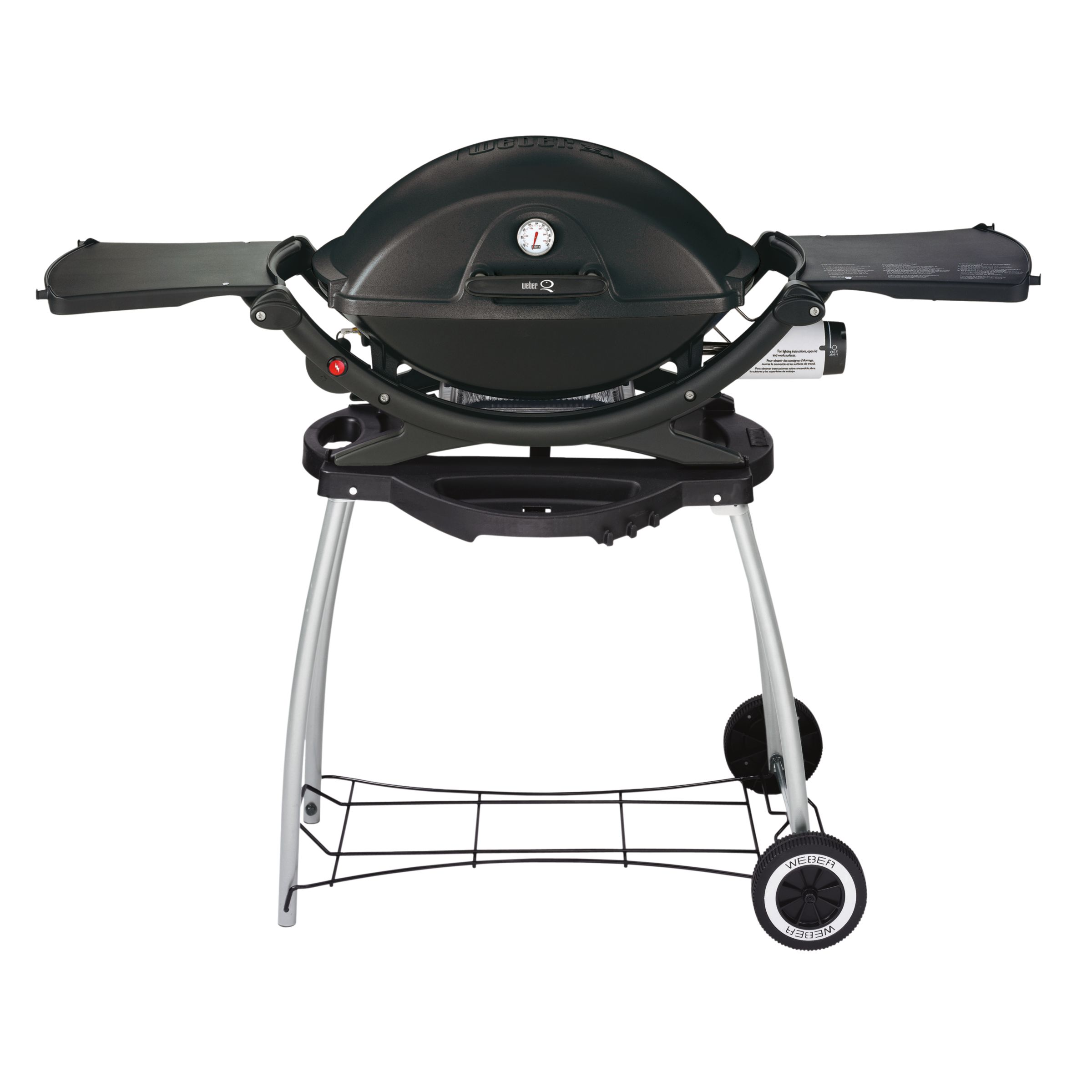 Weber Q220 Barbecue and Rolling Cart