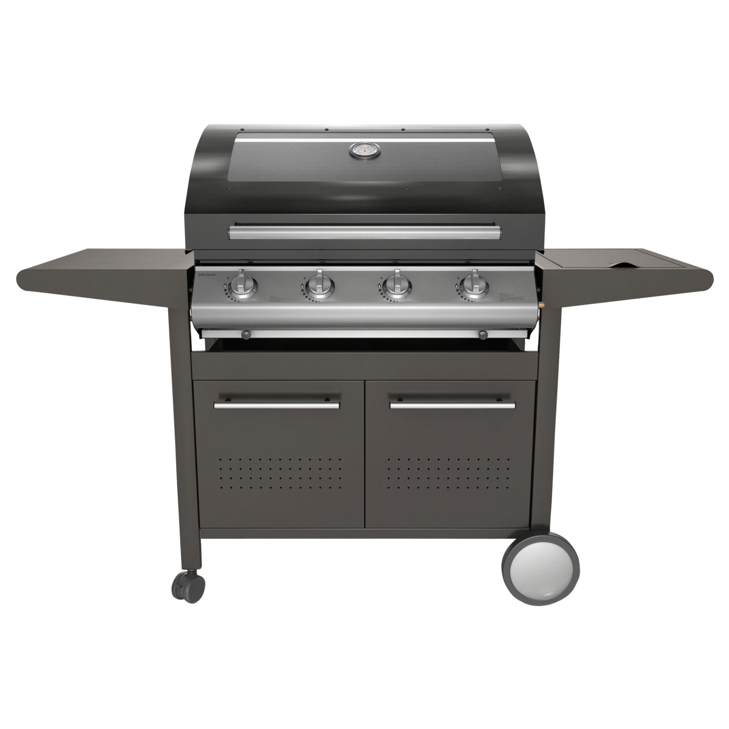 John Lewis JL4B21 Roaster 4 Burner Barbecue