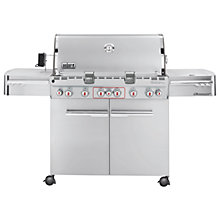 Buy Weber S670 6 Burner Gas Barbecue Online at johnlewis.com