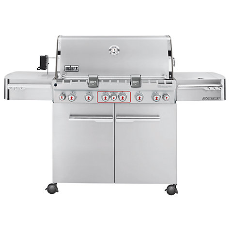 Buy Weber S670 Gas Barbecue Online at johnlewis.com
