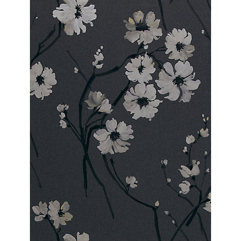 Buy Harlequin Floris Wallpaper, Black 30215 Online at johnlewis.com
