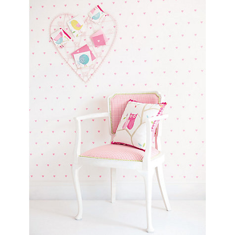 Buy Harlequin Love Hearts Wallpaper, 70500 Online at johnlewis.com