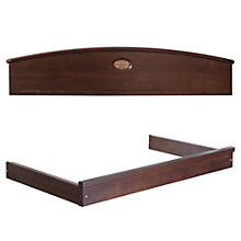 Buy Boori Madison Pelmet and Changing Tray, English Oak Online at johnlewis.com