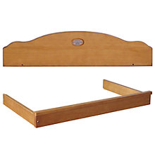 Buy Boori Matilda Pelmet and Changing Tray, Heritage Teak Online at johnlewis.com