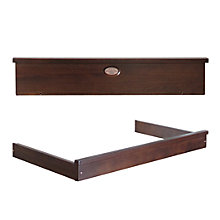 Buy Boori Newport Pelmet and Changing Tray, English Oak Online at johnlewis.com