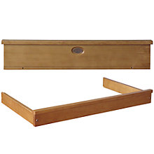 Buy Boori Newport Pelmet and Changing Tray, Heritage Teak Online at johnlewis.com