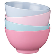 Buy little home at John Lewis Make a Little Wish Pastel Bowls, Set of 4 Online at johnlewis.com